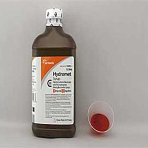hydromet cough syrup
